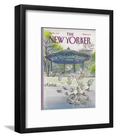 The New Yorker Cover - April 6, 1987