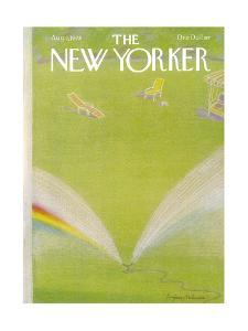 The New Yorker Cover - August 7, 1978 by Eugène Mihaesco