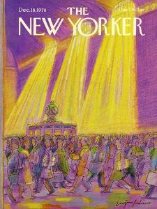 The New Yorker Cover - December 18, 1978 by Eugène Mihaesco