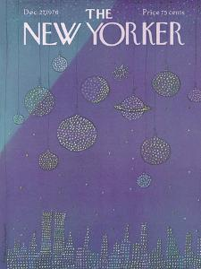 The New Yorker Cover - December 27, 1976 by Eugène Mihaesco
