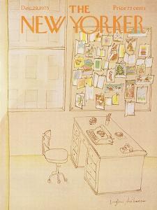 The New Yorker Cover - December 29, 1975 by Eugène Mihaesco