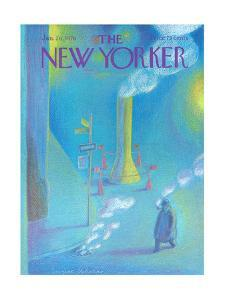 The New Yorker Cover - January 26, 1976 by Eugène Mihaesco