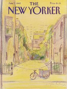 The New Yorker Cover - June 7, 1982 by Eugène Mihaesco