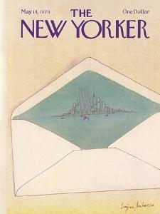 The New Yorker Cover - May 14, 1979 by Eugène Mihaesco