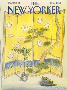 The New Yorker Cover - May 9, 1983 by Eugène Mihaesco