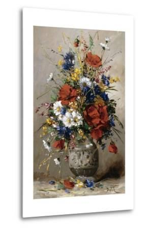 A Vase of Summer Flowers