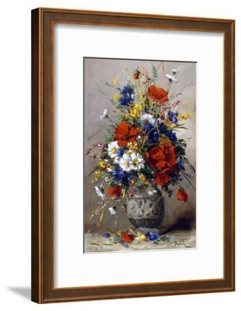 Vase of Summer Flowers