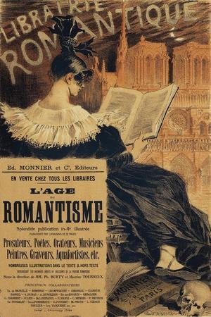 Libraire Romantique, Poster