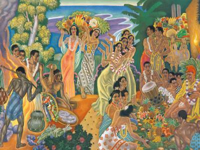 Island Feast, Traditional Hawaiian Celebration