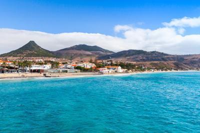 Coastal Landscape of Porto Santo Island in Madeira Archipelago, Portugal by Eugene Sergeev