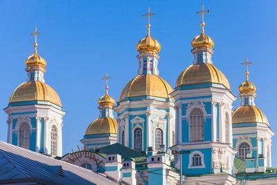 St. Nicholas Naval Cathedral, Saint-Petersburg, Russia