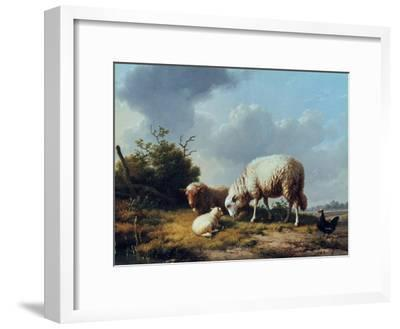 Sheep and Poultry in a Landscape, 19th Century