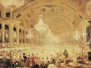 Dinner at the Tuileries by Eugène Viollet-le-Duc