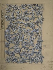 Modèle de panneau décoratif by Eugène Viollet-le-Duc