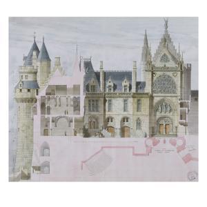 Pierrefonds by Eugène Viollet-le-Duc