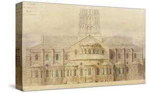 Saint-Sernin de Toulouse chevet restauré by Eugène Viollet-le-Duc