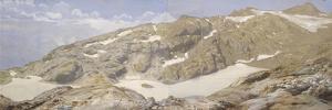 Vue des lacs blancs by Eugène Viollet-le-Duc