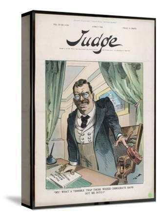Theodore Roosevelt 26th American President Contemptuous of Democrat Attacks