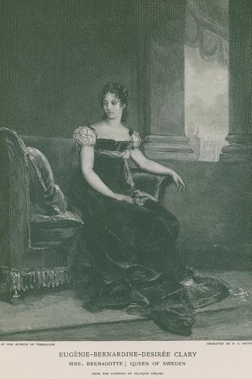 Eugenie-Bernardine-Desiree Clary-Francois Gerard-Giclee Print