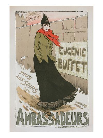 Eugénie Buffet - Ambassadeurs-Lucien Métivet-Art Print