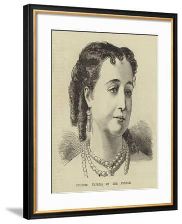Eugenie, Empress of the French--Framed Giclee Print