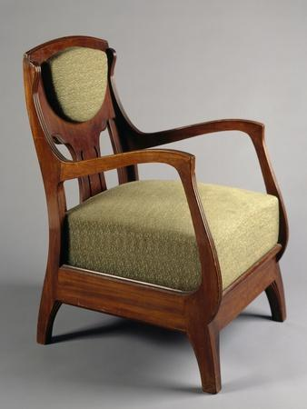 Art Nouveau Style Armchair, 1920