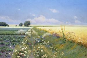 Summer Landscape by Eugeniusz Wrzeszcz