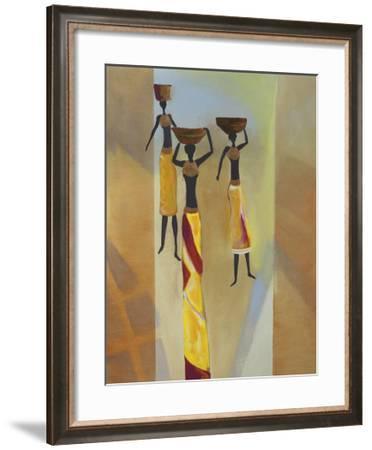 Euphony III-Lee White-Framed Art Print