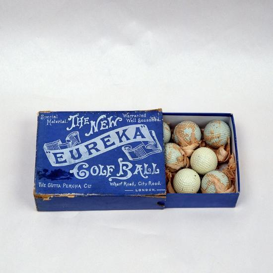 Eureka golf ball box, made by the Gutta Percha Co, London, c1898-Unknown-Giclee Print