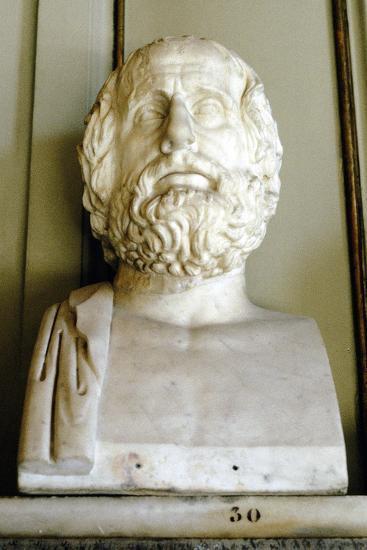 Euripedes, Ancient Greek Tragedian--Photographic Print