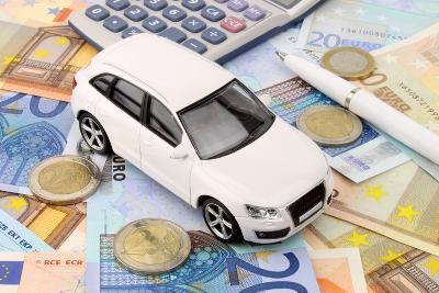 Euro Car Finance-spectrumblue-Photographic Print