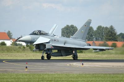 Eurofighter Ef2000 Typhoon from the German Air Force-Stocktrek Images-Photographic Print
