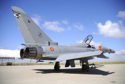 Eurofighter Ef2000 Typhoon of the Spanish Air Force-Stocktrek Images-Photographic Print