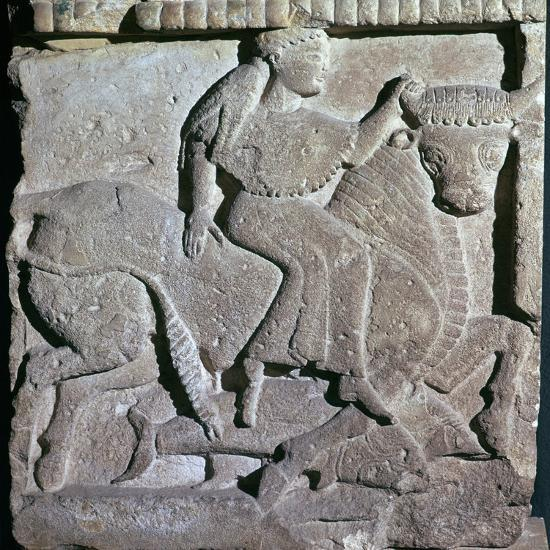 Europa being carried off by the bull, 6th century BC-Unknown-Giclee Print