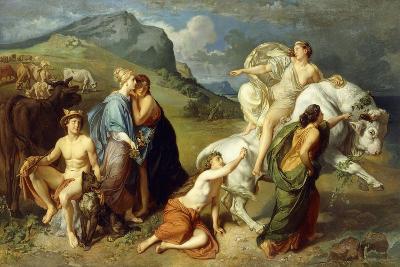 Europa-Johann Paul Adolf Kiessling-Giclee Print