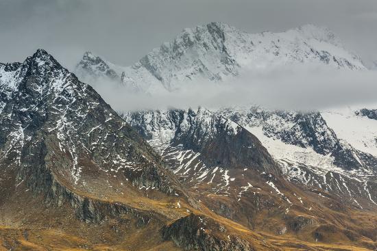 Europe, Austria/Italy, Alps, Mountains, View from Passo Rombo - Timmelsjoch-Mikolaj Gospodarek-Photographic Print
