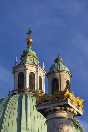 Europe, Austria, Vienna, St. Charles's Church-Gerhard Wild-Photographic Print