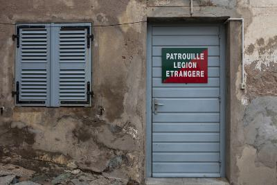 Europe, France, Corsica, Calvi, Entrance to the Foreign Legion-Gerhard Wild-Photographic Print