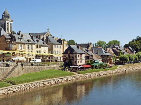 Europe, France, Dordogne, Montignac; the Market Town of Montignac on the Vézère-Nick Laing-Photographic Print