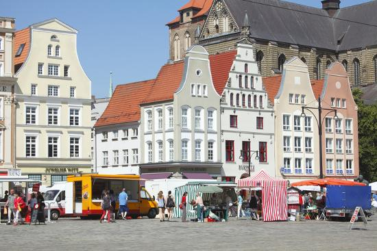 Europe, Germany, Historical Gabled Houses-Torsten Kruger-Photographic Print