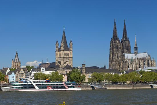 Europe, Germany, North Rhine-Westphalia, Cologne, Old Town-Chris Seba-Photographic Print