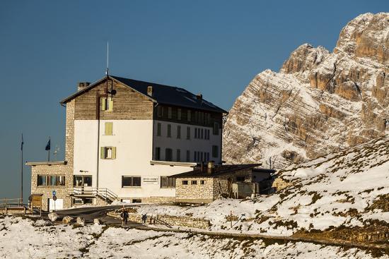 Europe, Italy, Alps, Dolomites, Mountains, Belluno, Sexten Dolomites, Rifugio Auronzo, Tre Cime-Mikolaj Gospodarek-Photographic Print