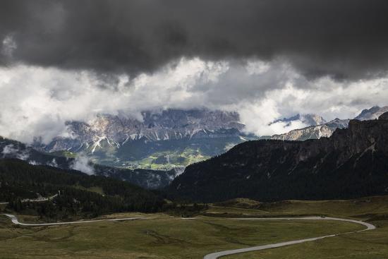 Europe, Italy, Alps, Dolomites, Mountains, Veneto, Belluno, Giau Pass-Mikolaj Gospodarek-Photographic Print