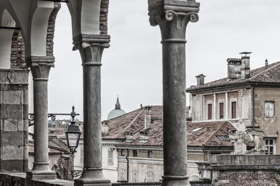 Europe, Italy, Friuli-Venezia-Giulia. The arcades of the Piazzale del Castello in Udine.-Catherina Unger-Photographic Print