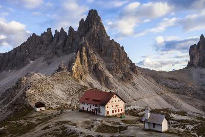 Europe, Italy, South Tyrol, the Dolomites, Tre Cime Di Lavaredo, Paternkofel, Dreizinnenh?tte-Gerhard Wild-Photographic Print
