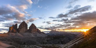 Europe, Italy, South Tyrol, the Dolomites, Tre Cime Di Lavaredo-Gerhard Wild-Photographic Print