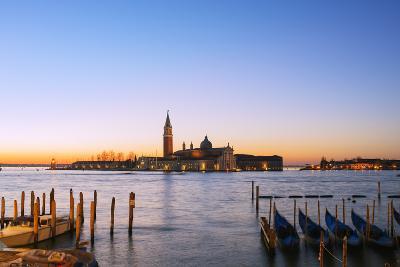 Europe, Italy, Veneto, Venice, San Giorgio Maggiore Church across Basino Di San , Sunrise-Christian Kober-Photographic Print