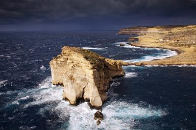 Europe, Maltese Islands, Gozo. Dramatic Scenery in Dwejra.-Ken Scicluna-Photographic Print