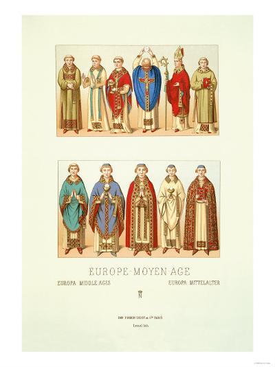 Europe-Moyen-Age--Art Print