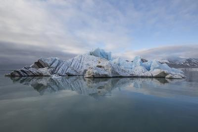 Europe, Norway, Svalbard. Drifting Ice from Monaco Glacier-Jaynes Gallery-Photographic Print